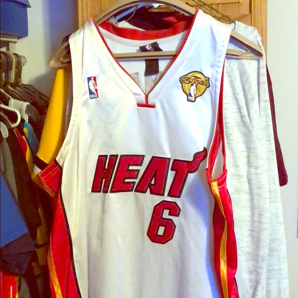 the best attitude 04315 eb3c1 Lebron james Miami Heat Jersey NBa Finals